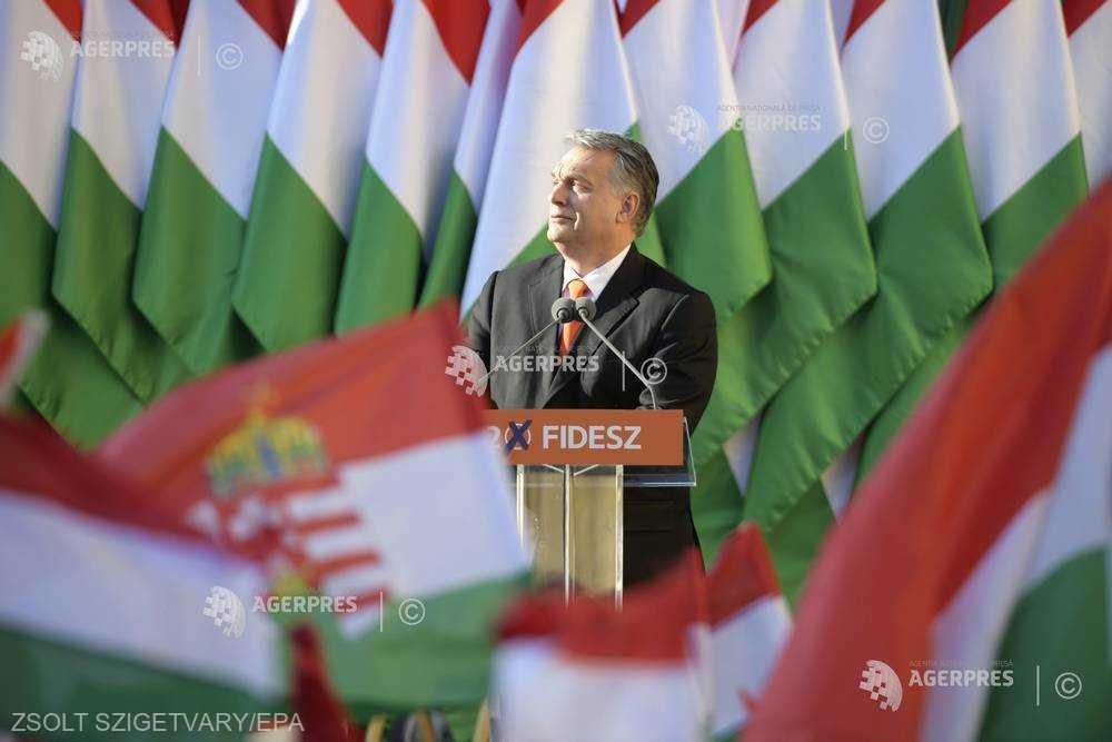 ALEGERI ÎN UNGARIA: 'Iliberalul' Viktor Orban, favorit să conducă ţara încă patru ani