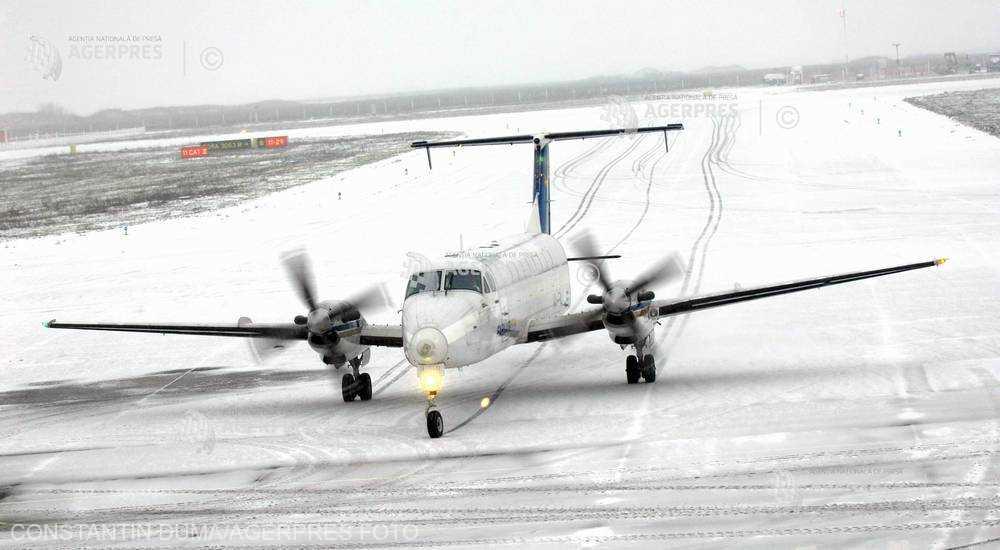 Aeroportul din Timişoara - redeschis, după ce a fost închis aproximativ două ore din cauza vremii