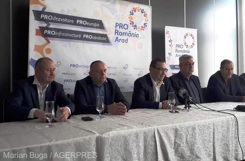 Ponta: Dacă reuşeşte PSD să scape de Dragnea, Dăncilă, Vâlcov şi toată gaşca, e natural să colaborăm