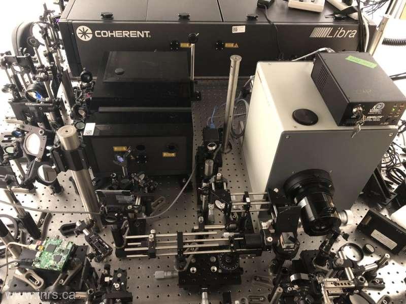 A fost realizată cea mai rapidă cameră de filmat, care captează 10 trilioane de cadre pe secundă