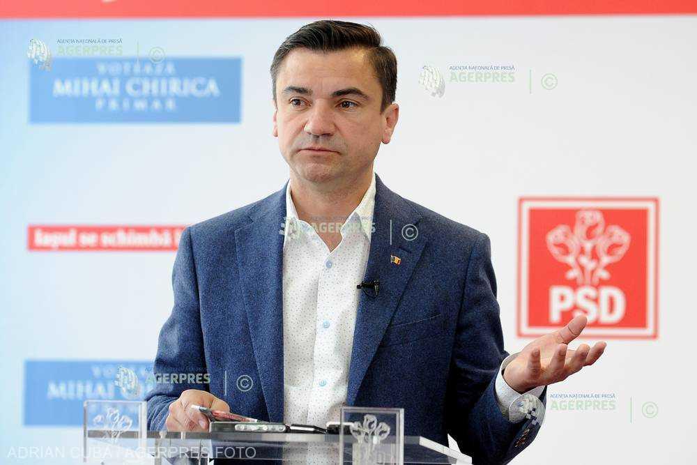 Mihai Chirica: PSD să facă o mişcare inteligentă şi să schimbe conducerea