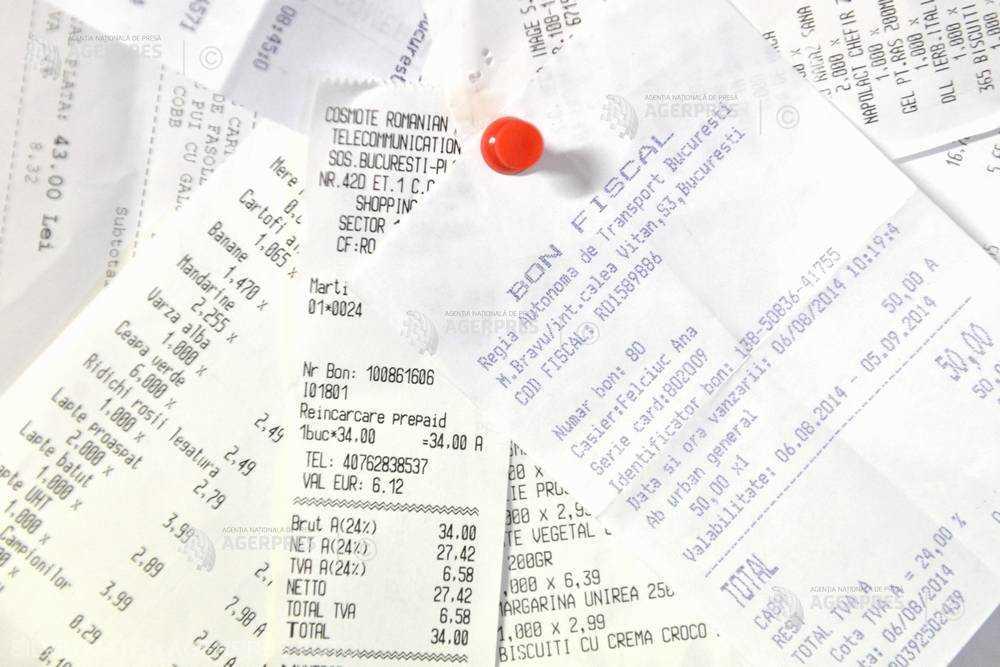 Bonurile fiscale în valoare de 639 de lei emise pe 2 mai au ieşit câştigătoare la extragerea de duminică