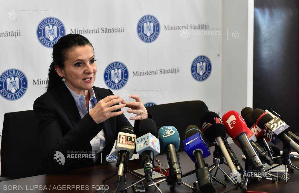 Sorina Pintea: Am fost chemată imperativ la o reuniune a miniştrilor din sud-estul Europei privind vaccinarea