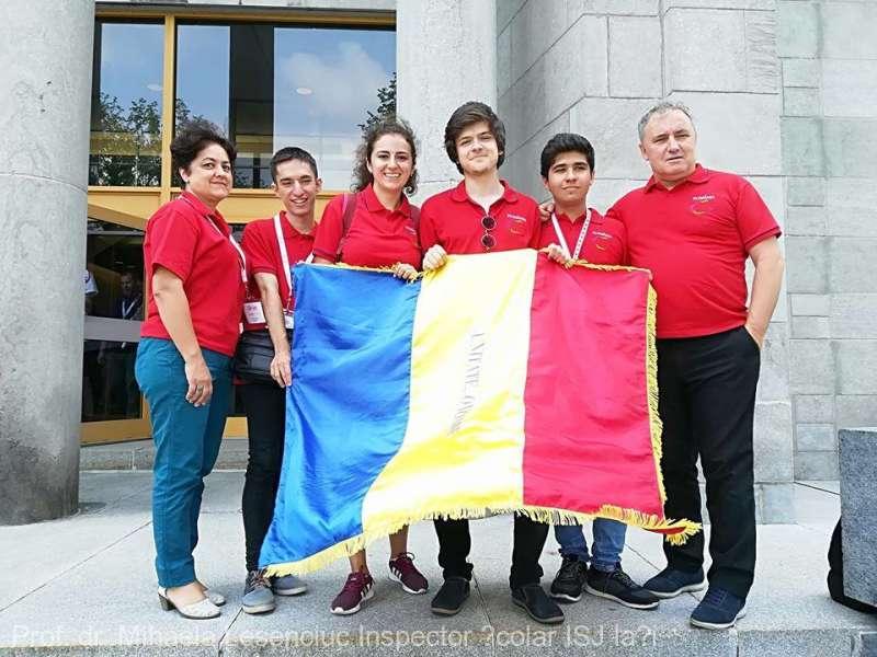Locul I pe naţiuni pentru echipa României la Olimpiada Internaţională de Geografie