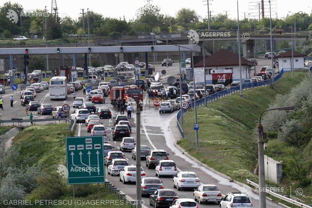 IGPR: Trafic aglomerat pe Valea Prahovei şi pe Autostrada Bucureşti-Constanţa