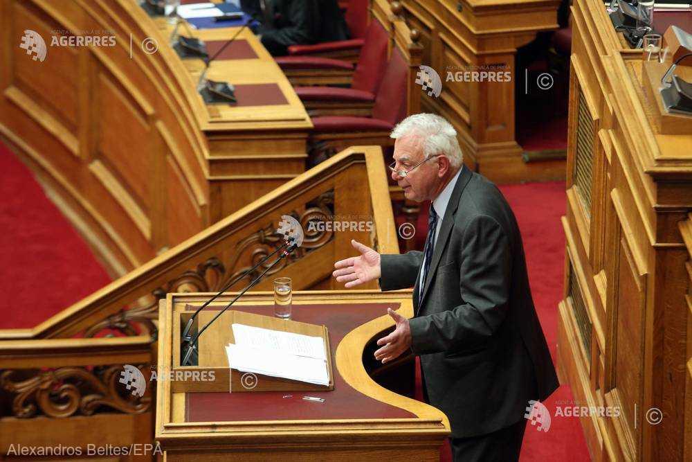 Afacerea Novartis: Parlamentul grec votează crearea unei comisii de anchetă
