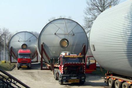 Transport agabaritic va afecta traficul pe mai multe tronsoane