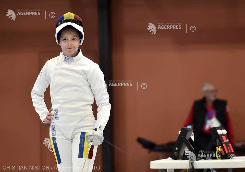 Scrimă: Ana Maria Popescu, calificată în sferturile probei individuale de spadă feminin la Mondialul din China
