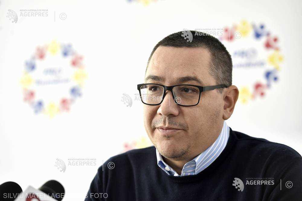 Ponta: Temele propuse pentru referendum sunt defazate ca timp