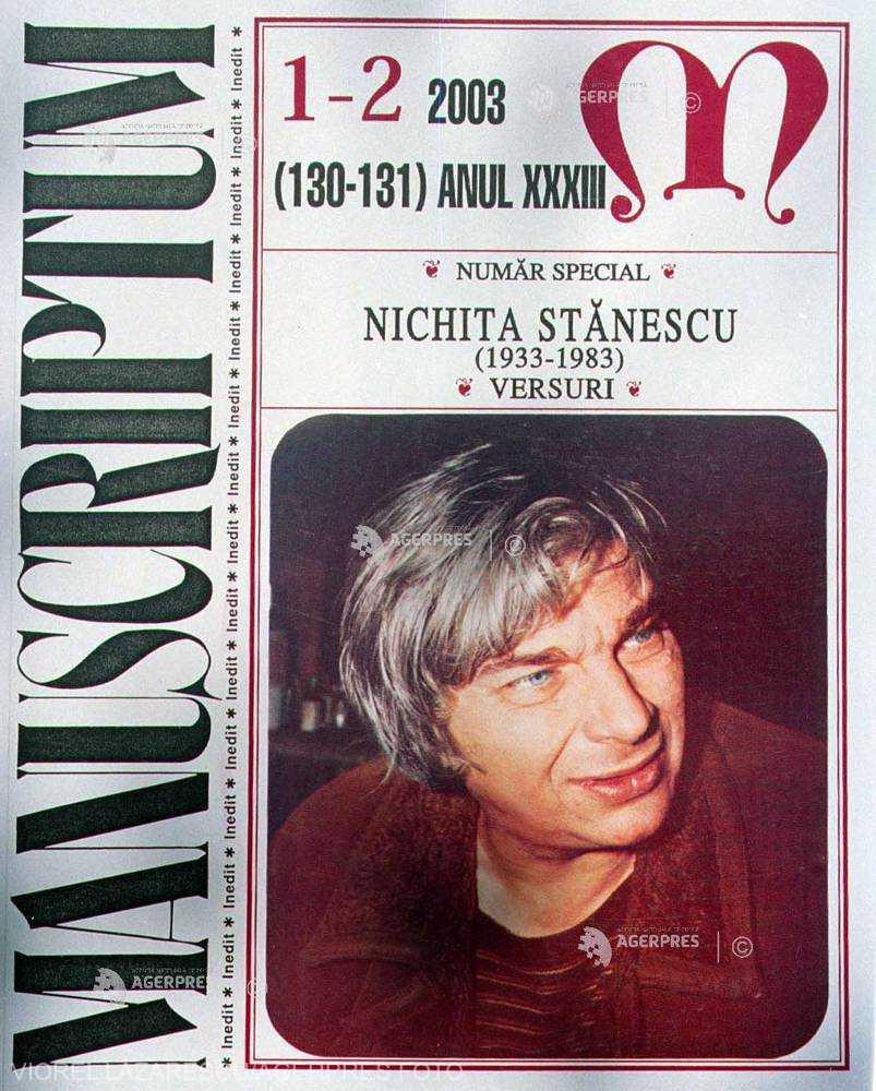 DOCUMENTAR: 35 de ani de la moartea poetului Nichita Stănescu
