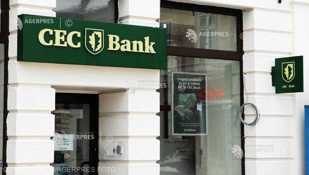 Taxele şi impozitele datorate către ANAF se vor putea plăti, de luni, prin CEC Bank