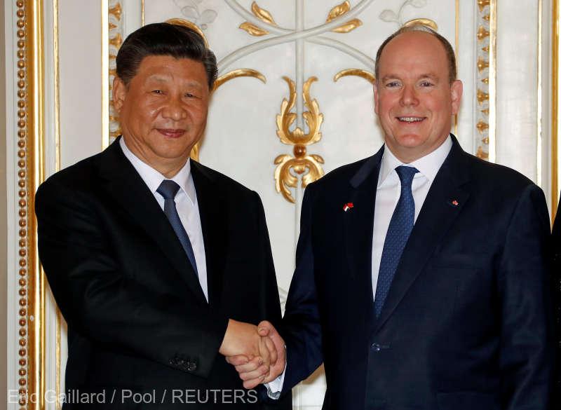 Preşedintele chinez îşi continuă mini-turneul european cu vizite de stat în Monaco şi în Franţa
