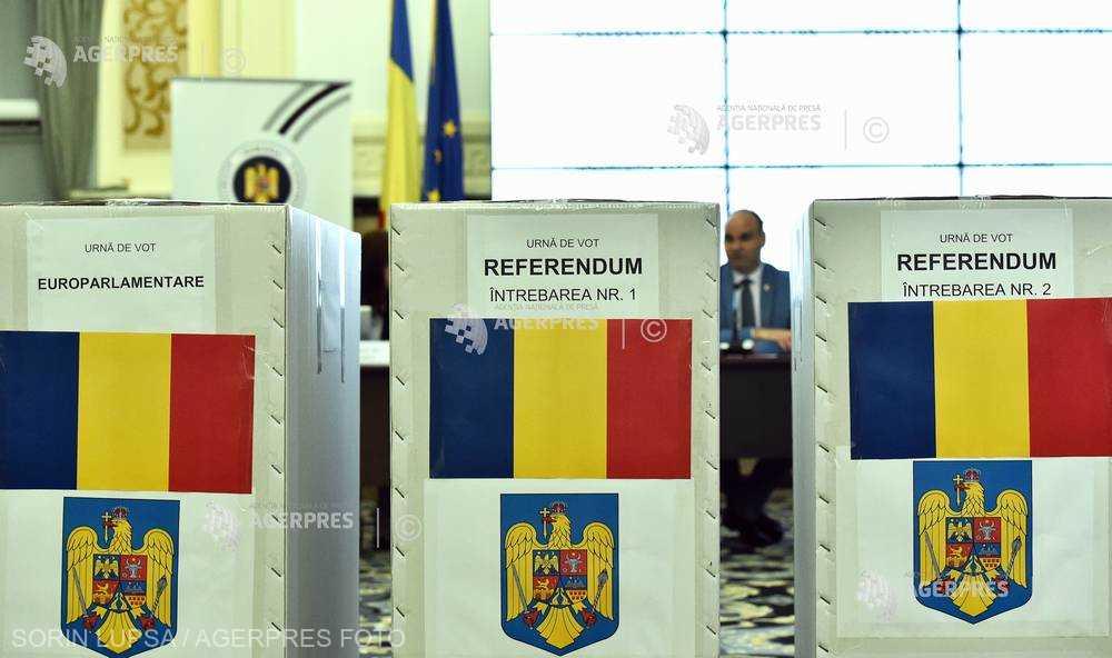Duminică - alegeri pentru PE şi referendum pe Justiţie; peste 18 milioane de cetăţeni cu drept de vot, aşteptaţi la urne