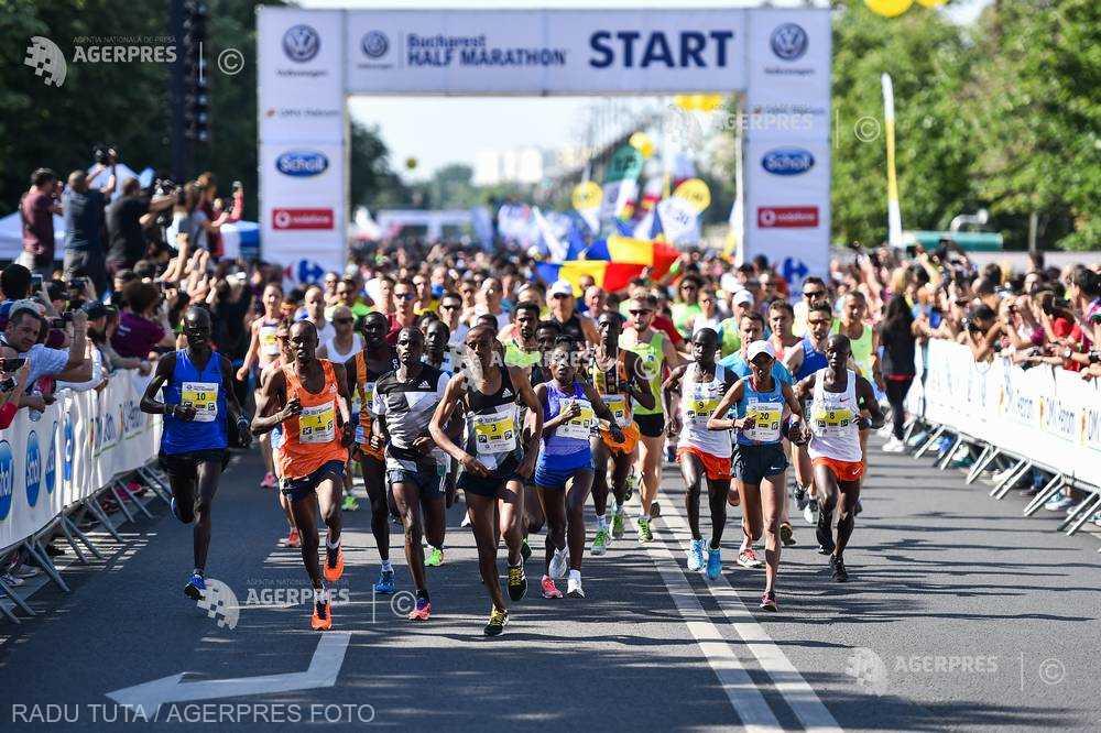 Atletism: Kenyanul Patrick Kipkorir Siele a câştigat Semimaratonul Bucureşti