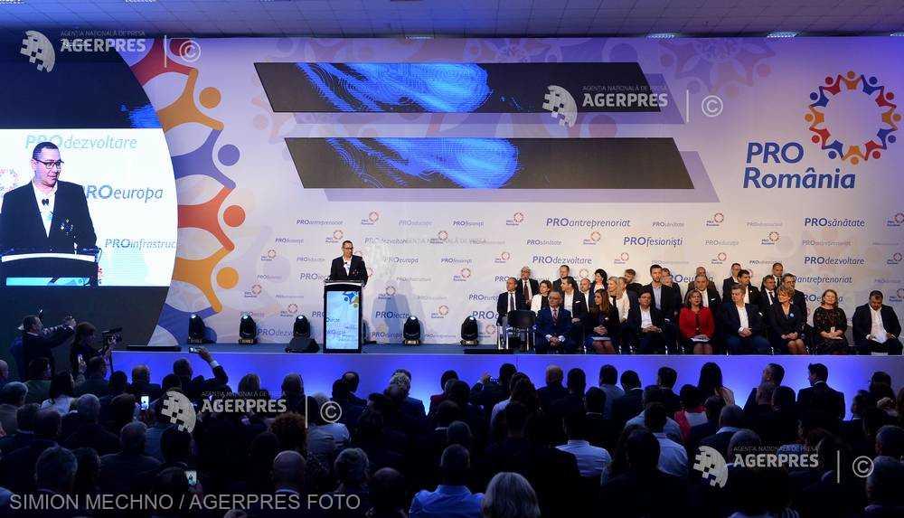 Victor Ponta, ales preşedinte al Pro România: Un lider adevărat este o protecţie pentru echipă