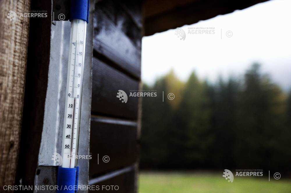 Harghita: Minus 4,2 grade Celsius la Joseni, cea mai scăzută temperatură din ţară