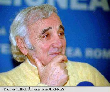 Charles Aznavour va primi o stea pe Walk of Fame din Hollywood