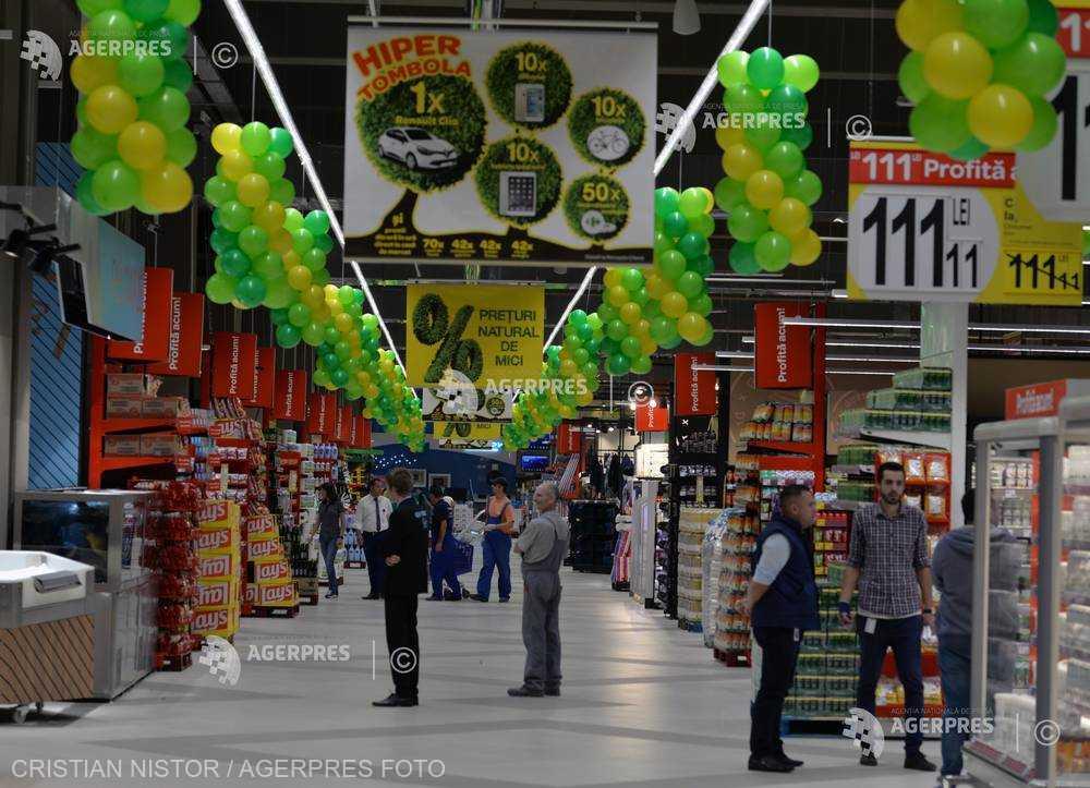 Piaţa românească a bunurilor de larg consum pentru acasă a crescut cu 13% în primul trimestru (studiu)