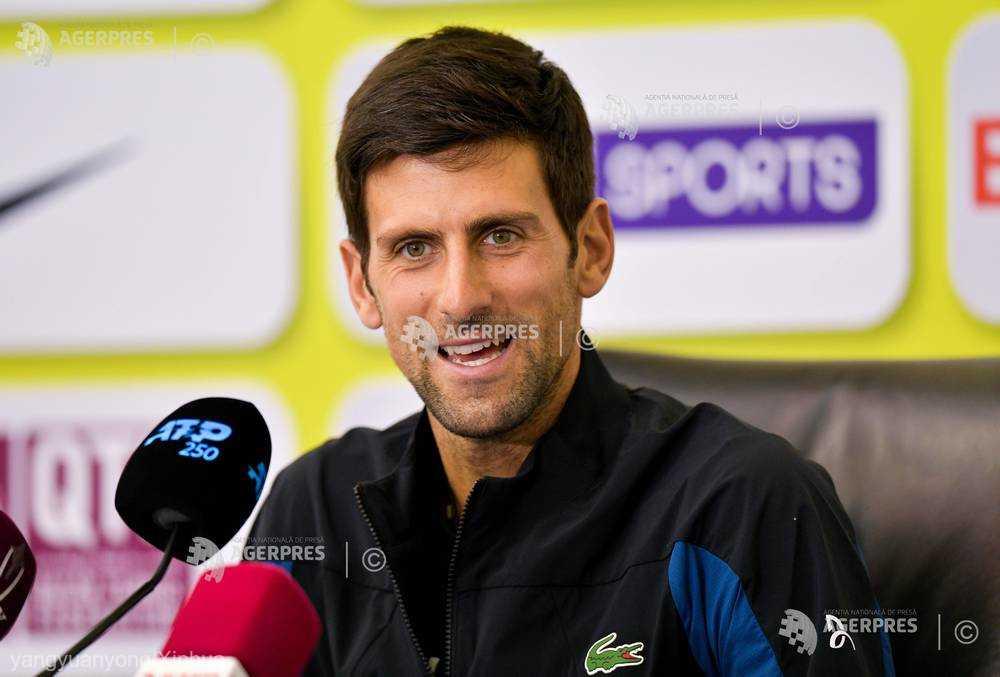 Tenis: ''Cei patru mari'' jucători rămân favoriţi la turneele de Mare Şlem, crede Novak Djokovic