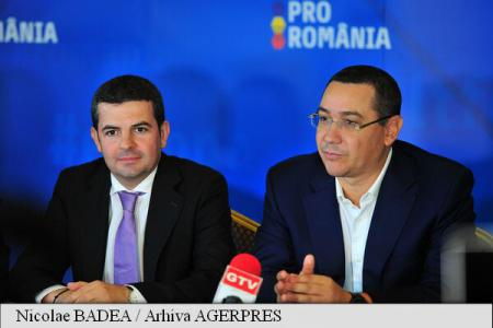 Ponta: Dragnea a făcut un blat cu Iohannis pentru următoarele prezidențiale