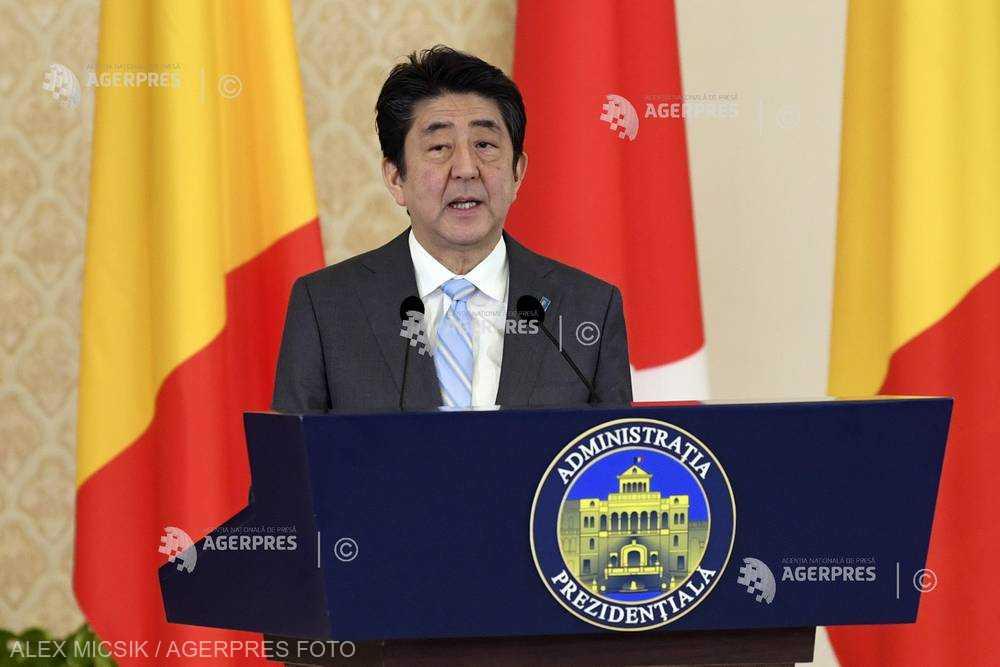 Shinzo Abe, la Cotroceni: România este un partener crucial pentru Japonia