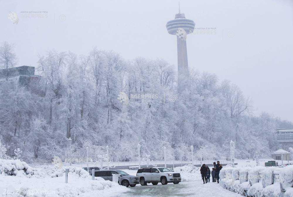 MAE - atenţionare de călătorie: Canada - temperaturi scăzute şi furtuni de zăpadă