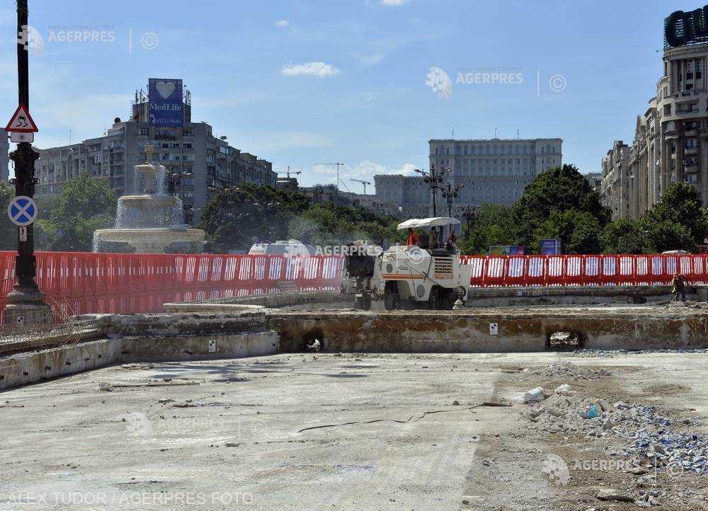 România, cel mai semnificativ declin al lucrărilor de construcţii din UE, în iulie