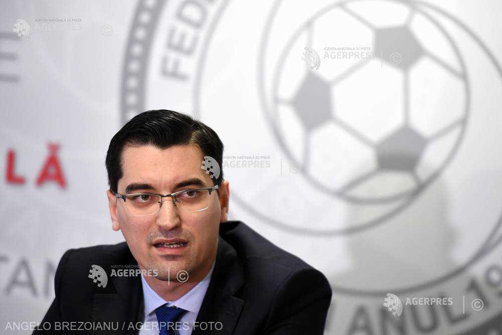 Fotbal: Burleanu - Voi candida la următoarele alegeri pentru preşedinţia FRF; de azi intru în campanie electorală