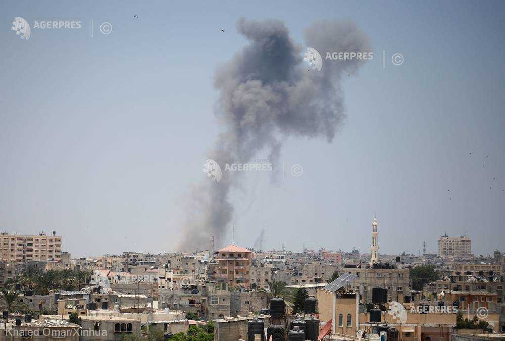 Lovituri israeliene asupra Fâşiei Gaza, ca ripostă la lansări de încărcături explozive