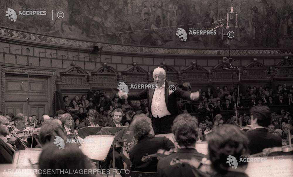 ROMÂNI CELEBRI: Dirijorul şi compozitorul Sergiu Celibidache