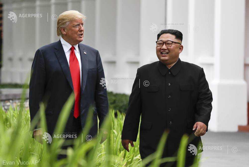 Viitorul summit între Donald Trump şi Kim Jong Un va avea loc la sfârşitul lui februarie