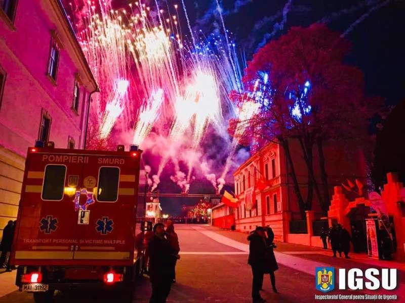 IGSU: Intervenţii în peste 5.600 de situaţii de urgenţă, în minivacanţa de Revelion
