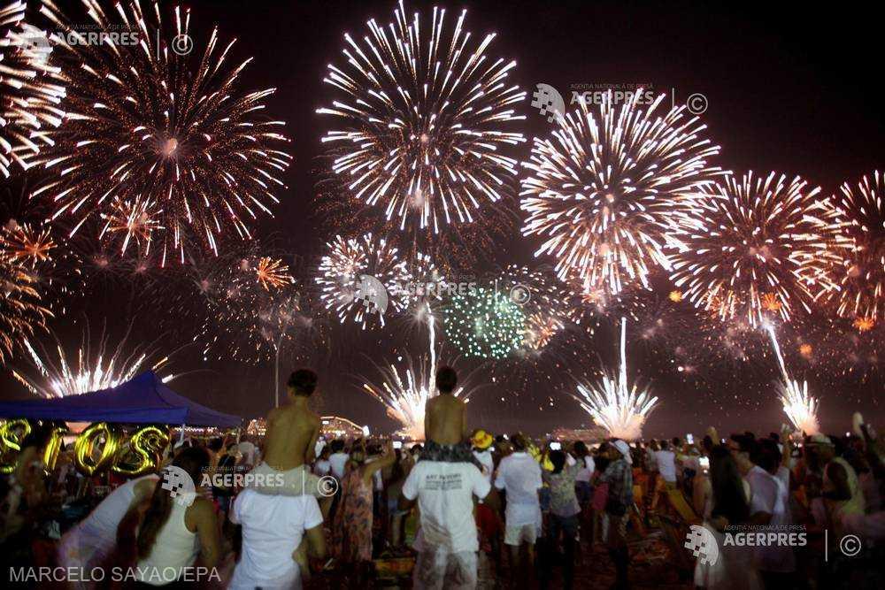 Celebrări ale Anului Nou în lume în condiţii de securitate sporită (GALERIE FOTO)