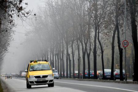 Cod Galben de ceață în 11 județe din Oltenia și Moldova