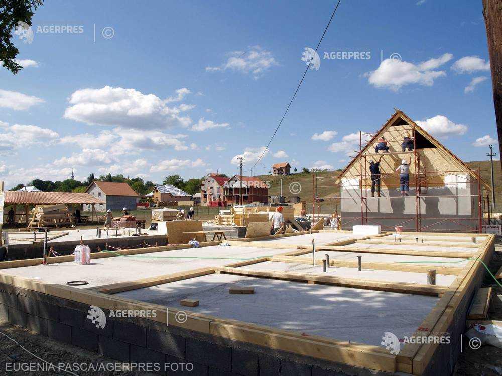 INS: Peste 53.300 de locuinţe, finalizate în România în 2017