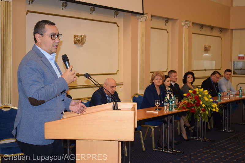 Victor Ponta spune că va emigra dacă Liviu Dragnea ajunge preşedinte