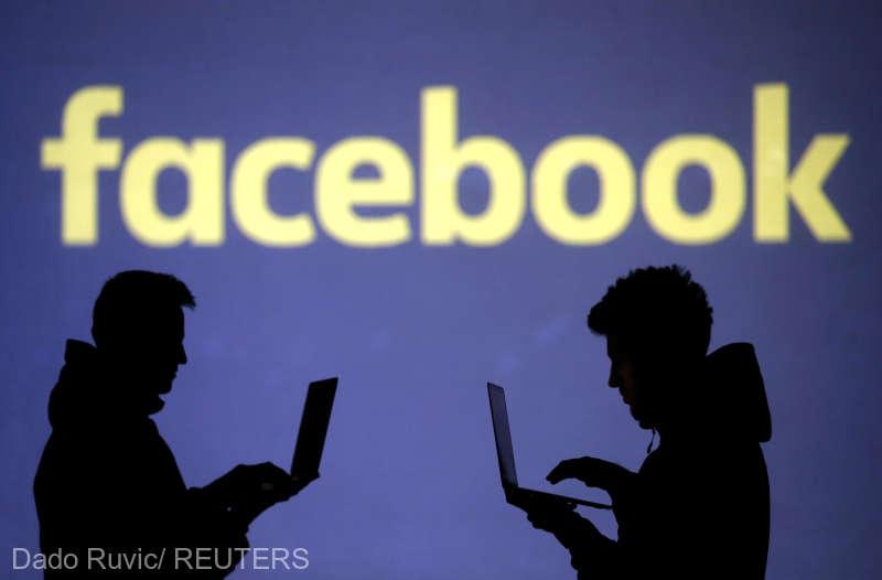 Facebook anunţă că a şters zeci de pagini, grupuri şi conturi din România şi Marea Britanie