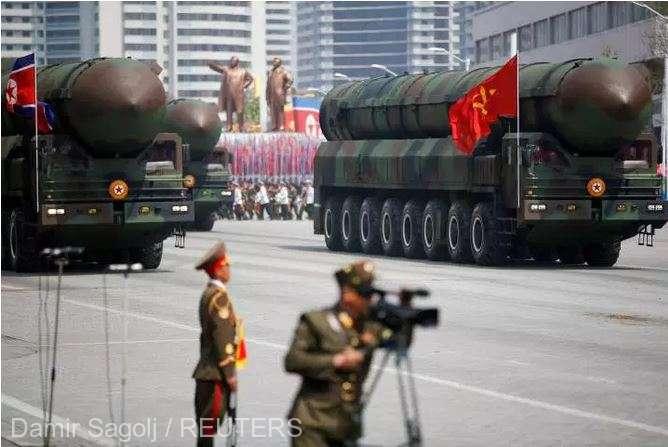 RPD Coreeană: Phenianul a lansat o rachetă cu rază scurtă de acţiune