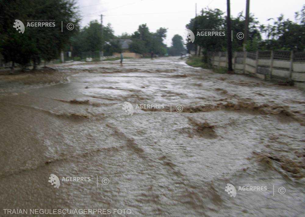 Cod roşu de inundaţii pe râul Dipşa din judeţul Bistriţa-Năsăud, în orele următoare