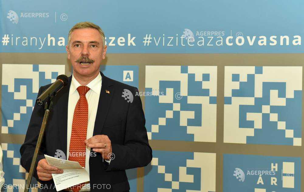 Preşedintele CJ Covasna despre logo-ul Centenar: Dacă e obligatoriu, atunci să fie bilingv