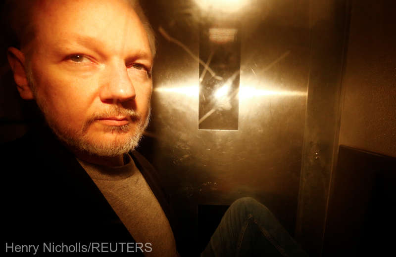 WikiLeaks: Condamnarea în cazul Assange, ''şocantă şi răzbunătoare''