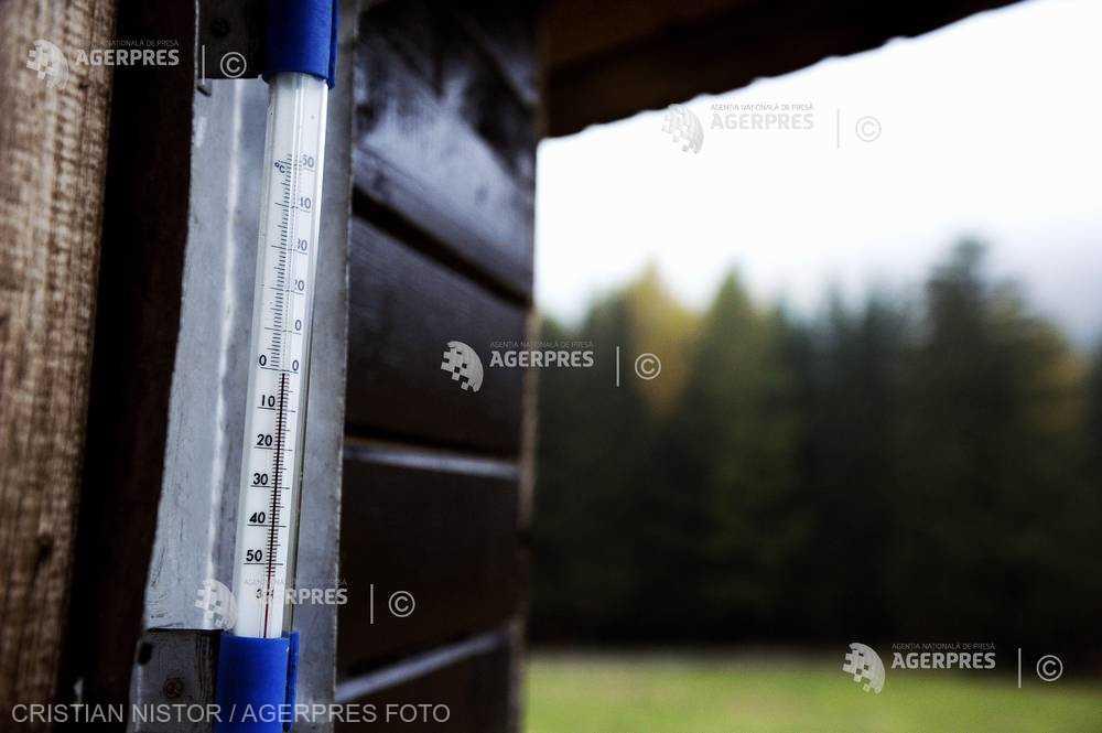 Harghita: Minus 4 grade Celsius la Miercurea Ciuc, cea mai scăzută temperatură a toamnei