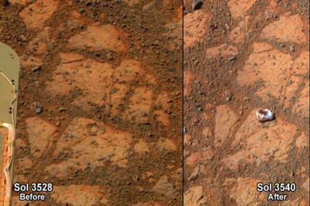 NASA a deslușit misterul rocii supranumite 'donut cu gem'