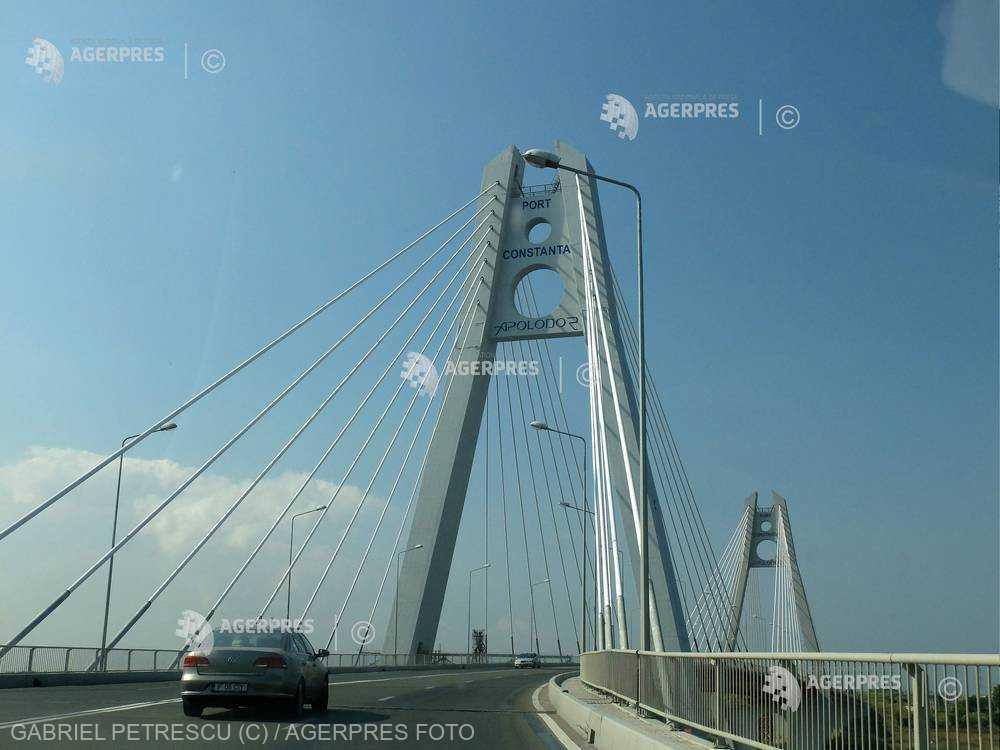Circulaţia rutieră se închide marţi pe Podul Agigea