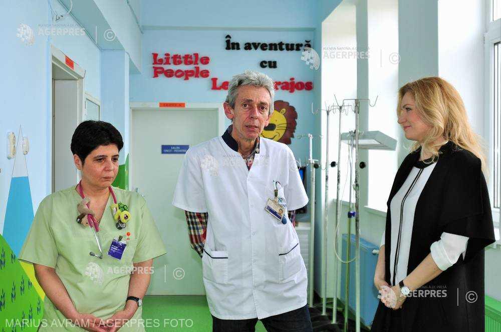 Cluj: Clinica de Pediatrie II a inaugurat două camere sterile destinate copiilor cu afecţiuni oncologice