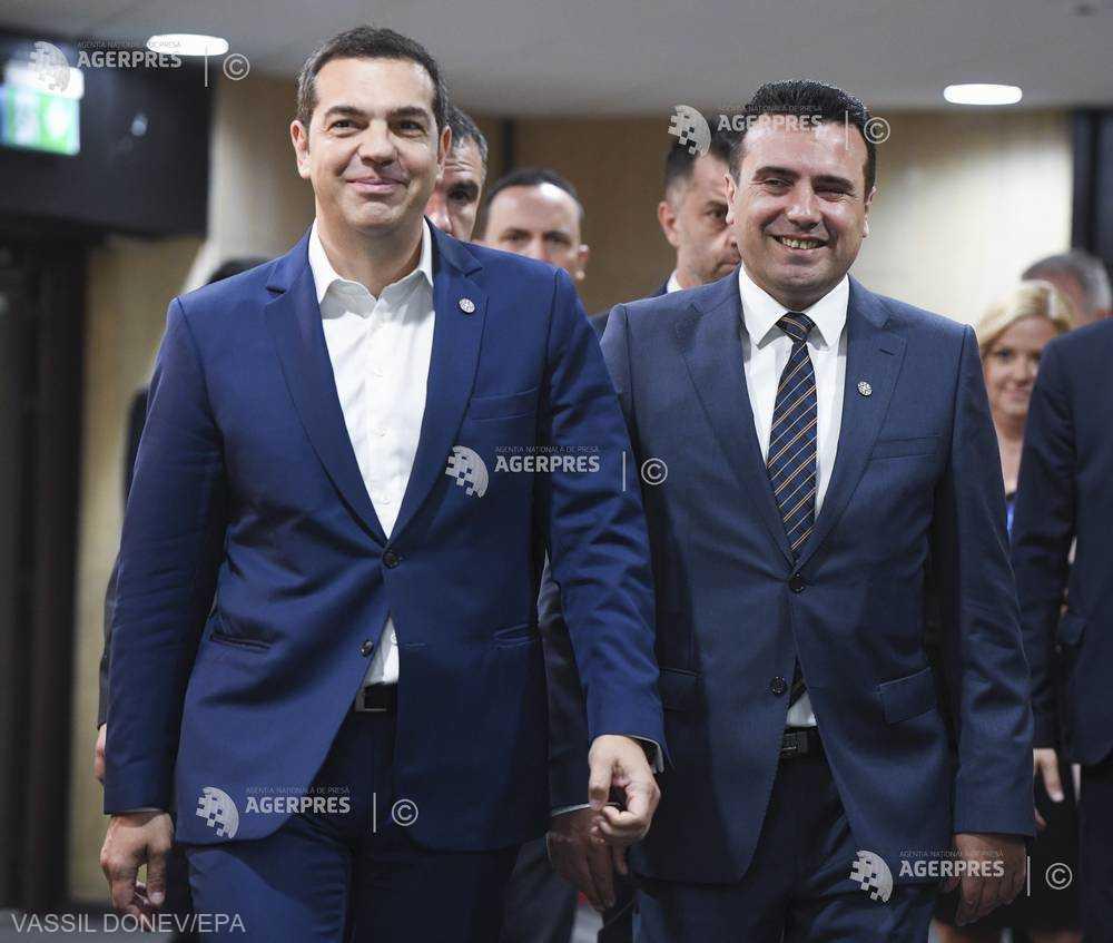 Numele propus pentru Macedonia primeşte o reacţie negativă în Grecia