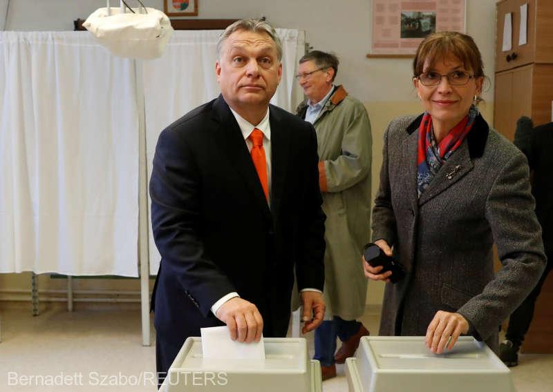 ALEGERI ÎN UNGARIA Viktor Orban a votat: ''UE se află la Berlin, la Budapesta, la Praga şi la Bucureşti''