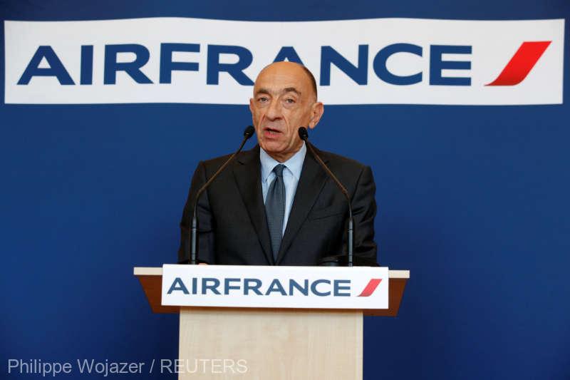 Air France anulează luni 25% din zboruri din cauza grevei