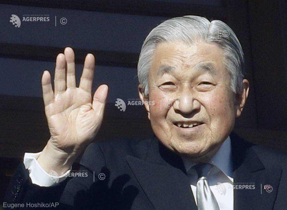 Japonia: Împăratul Akihito transmite speranţele sale de pace, în ultima sa adresare de Anul Nou