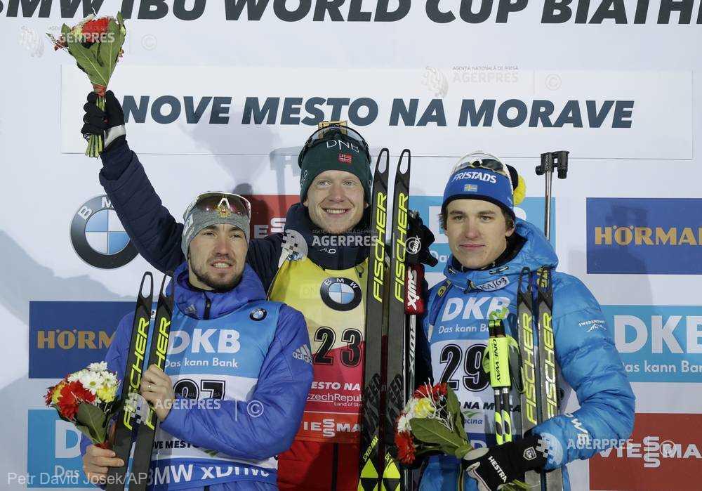 Biatlon: Cupa Mondială - Johannes Boe, învingător în sprintul de la Nove Mesto
